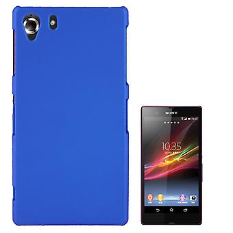 Cover plastic case for Sony Xperia Z1 blue