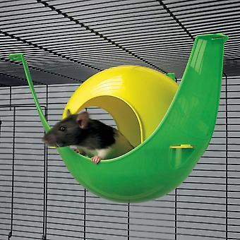 Sputnik råtta House blandade färger 29x26x19cm