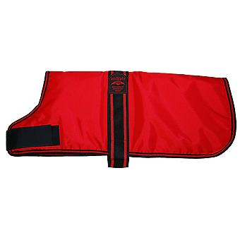 Padded Waterproof Coat Red 51cm (20