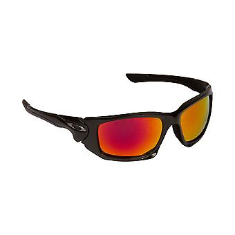 New SEEK Polarized Replacement Lenses for Oakley SCALPEL Black Red Mirror