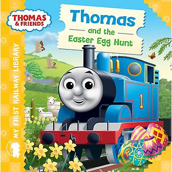 Thomas & Friends: My First Railway Library: Thomas and the Easter Egg Hunt (Board book)