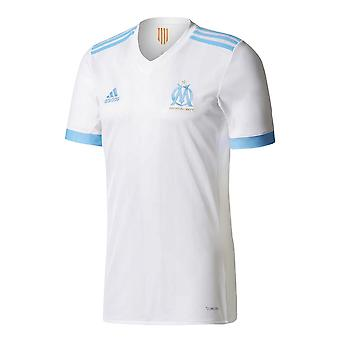 2017-2018 Olympique Marseille Adidas Home Football Shirt (Kids)