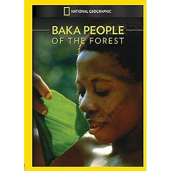 Baka: Menschen in den Wald [DVD] USA import