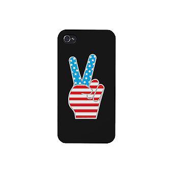 حالة الهاتف الأسود السلام العلم الأمريكي