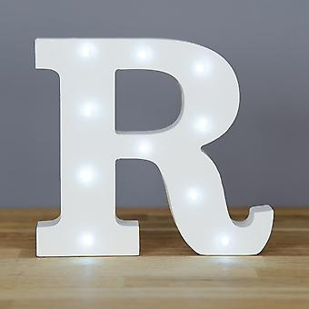 LED letter - Yesbox lights letter R