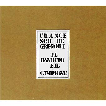 Francesco De Gregori - Il Bandito E Il Campione [CD] USA import