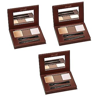 Barry M X 3 Barry M Brow Kit lys/Medium