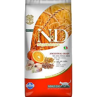 Farmina N&D Low Ancestral Grain Adult Poisson et Orange (Chats , Nourriture , Croquettes)