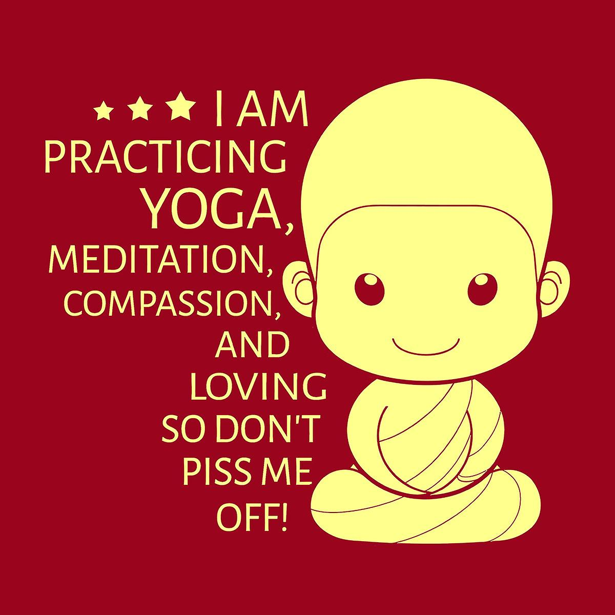 Yoga Dont Piss Me Off Women's T-Shirt | Fruugo