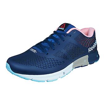 Reebok One Cushion 2.0 Lux Mens Running Trainers / Shoes - Blue