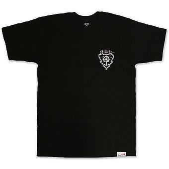 Diamond Supply Co Yacht Crest T-shirt schwarz