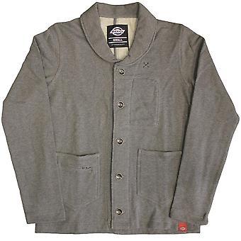 Dickies Flagstaff Schalkragen Sweatshirt Dark Grey Melange