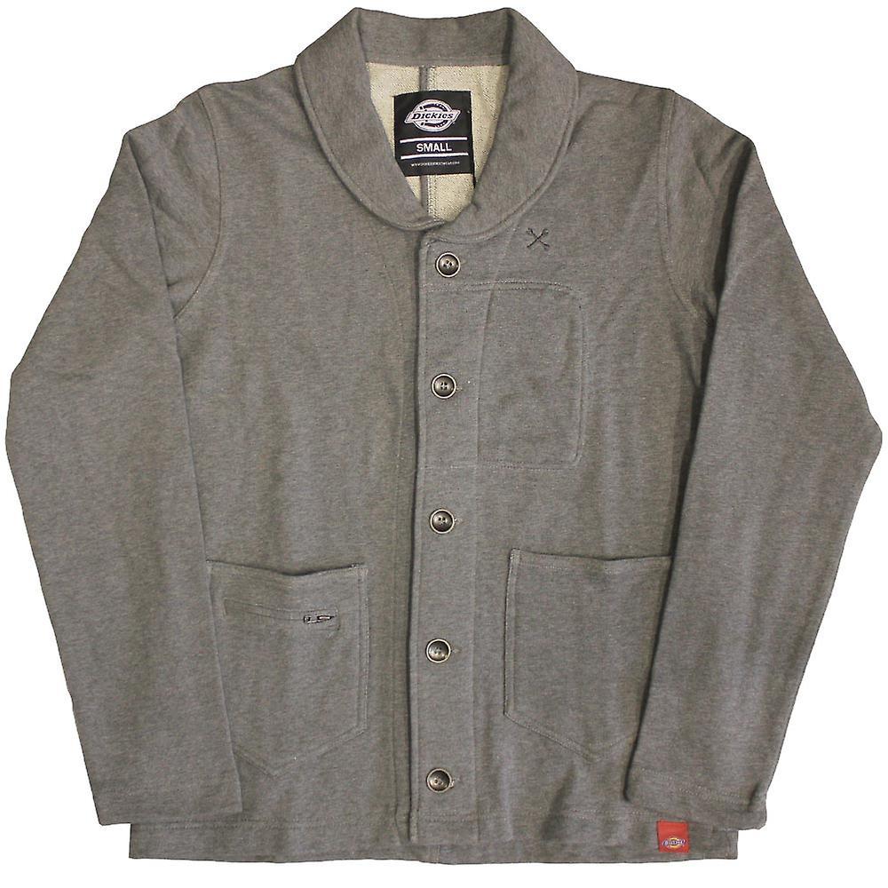 Dickies Flagstaff sjal krage tröja mörk grå Melange