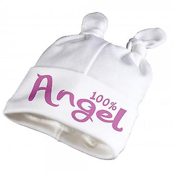 Spoilt Rotten 100% Angel Baby Knot Hat
