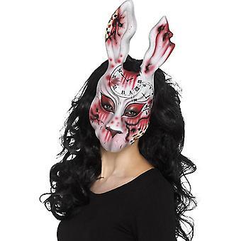 Masque de lapin mal