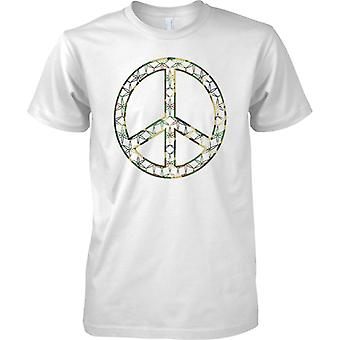 CND pace Logo - Camo Flower Design - Mens T-Shirt