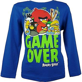 Boys Angry Birds HO1207 Long Sleeve Top