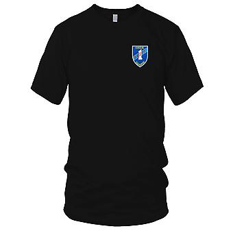 US Marine Küsten-Geschwader 1 gestickt Patch - schnelle Boot Vietnam blau Herren T Shirt