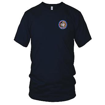 US Navy VA-145 Embroidered Patch - Rustler's Last Ride Around The Horn Ladies T Shirt