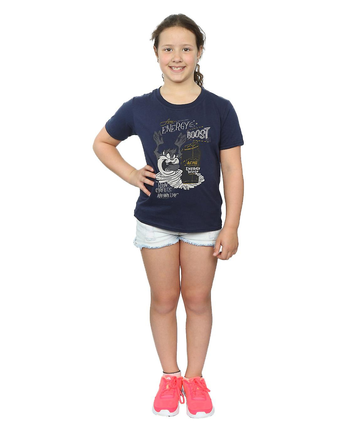 Looney Tunes filles Taz Energy Boost T-Shirt