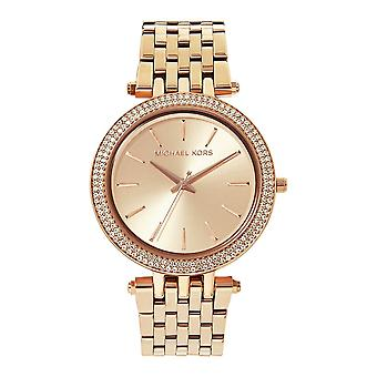 Michael Kors Watches Mk3192 Ladies Rose Gold-tone Stainless Watch