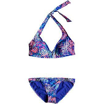 Roxy Mix Blossom Halter Bikini
