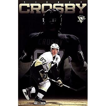 Pittsburgh Penguins - S Crosby 13 Poster Poster Print