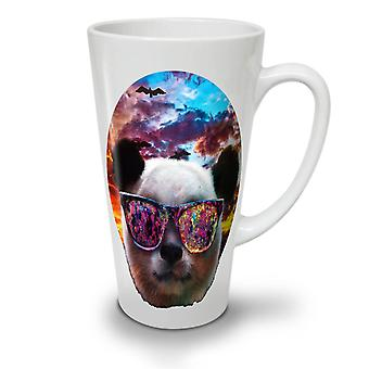 Panda Glasses Sky NEW White Tea Coffee Ceramic Latte Mug 17 oz | Wellcoda