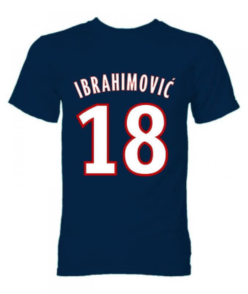 Zlatan Ibrahimovic PSG Hero T-Shirt (Navy)