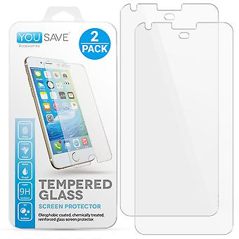 Yousave Accessories Google Pixel Glass Screen Protectors - Twin Pack