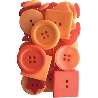 Button Up! Party Pack Buttons-Orange You Glad JABC55-05
