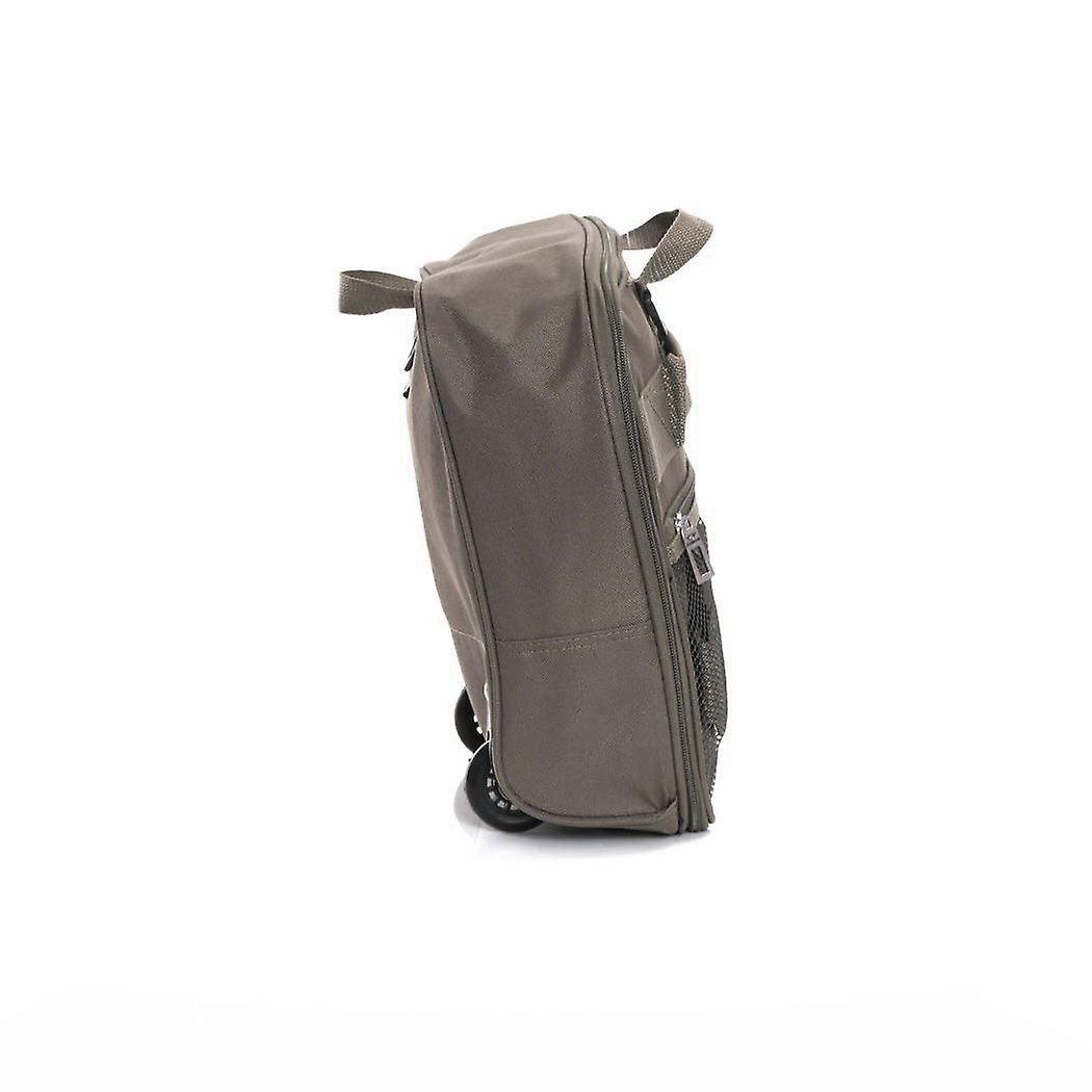 Slimbridge Havant Large 80cm Foldable Wheeled Bag, Taupe