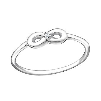 Infinity - 925 Sterling Silber jeweled Ringe - W23811X
