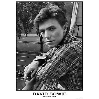 David Bowie Balcony Poster Poster Print