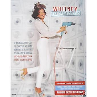 Whitney Houston Greatest Hits Poster