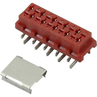 Pin enclosure - PCB Micro-MaTch Total number of pins 10 Connfly 1390076 Contact spacing: 1.27 mm 1 pc(s)