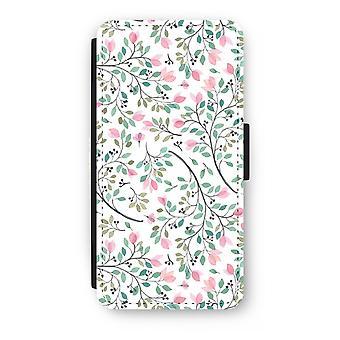 iPhone 7 Plus estuche Flip - flores delicadas