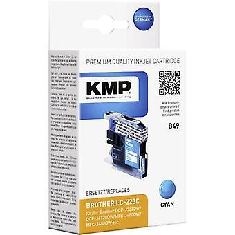 KMP Ink replaced Brother LC-223C Compatible Cyan