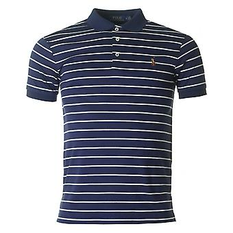 Polo Ralph Lauren Slim Fit Polo. gestreepte Soft Touch