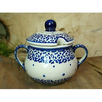 Sugar Bowl, height 10 cm, diameter 12 cm, tradition 54 polacco ceramica - BSN 22017