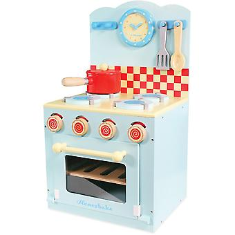 Le Toy Van Honeybake Ofen & Kochfeld Set blau
