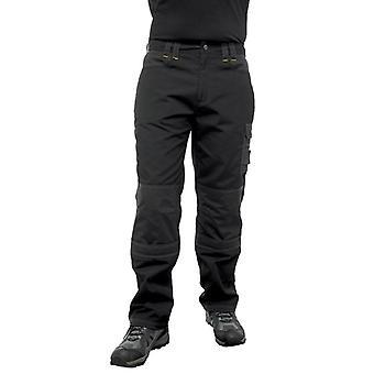 Regatta Mens Hardwear Holster Workwear Kneepad Trousers Black, Iron