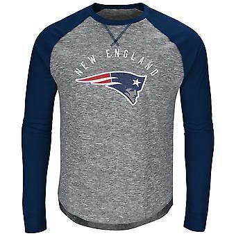 Majestic CORNER Raglan Long Sleeve - New England Patriots