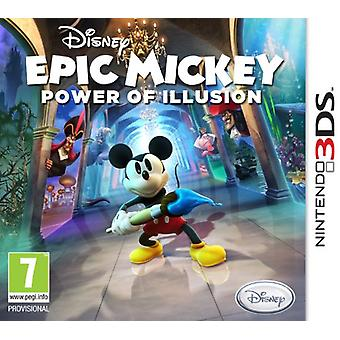 Disney Epic Mickey Power of Illusion (Nintendo 3DS)