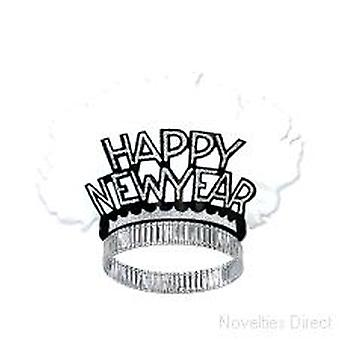 Happy New Year Silver Bird Of Paradise Tiaras (25)