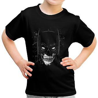 Batman Skull Portrait Kid's T-Shirt