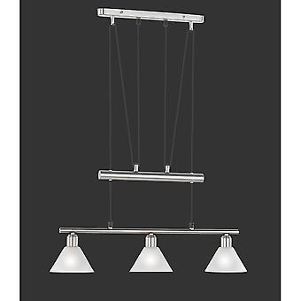 Trio Lighting Stamina Modern Nickel Matt Metal Pendant
