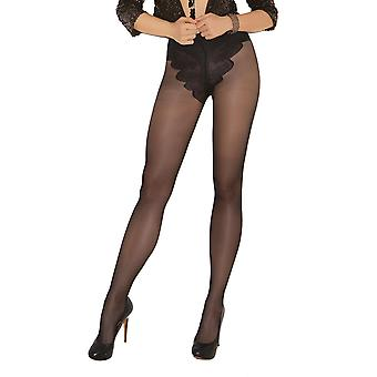 Sexy Plus Size French Cut Support Pantyhose Tights
