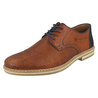 Mens Rieker Lace Up Casual Shoes B14B9