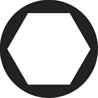 TOOLCRAFT 82 87 92 Hexagonal nuts M1.2 DIN 934 Steel zinc plated 20 pc(s)